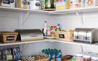 pantry overhaul, closet
