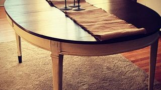 , Just finished my own antique Dining Room Table onto chairs
