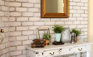transform your brick wall with milk paint, concrete masonry, painting