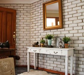 Painting Interior Brick Wall Part - 18: Transform Your Brick Wall With Milk Paint, Concrete Masonry, Painting