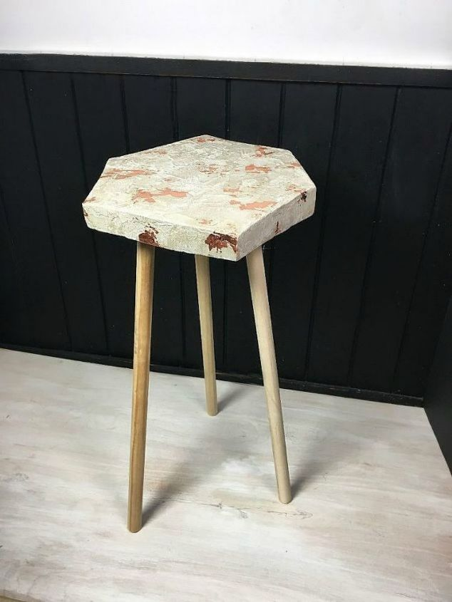 s 14 stunning ways to add cement to your home decor, concrete masonry, home decor, Shape it into a gorgeous side table