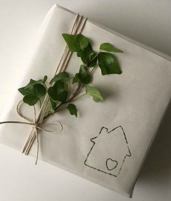 s x clever ways to use cookie cutters outside of your kitchen, kitchen design, To create the perfect Christmas wrapping