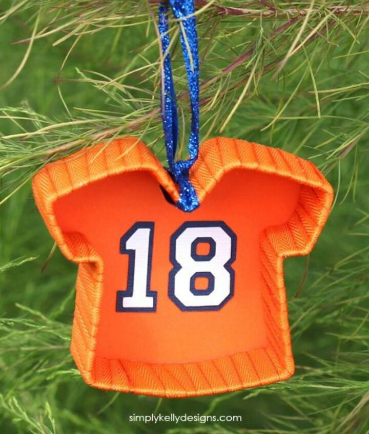s x clever ways to use cookie cutters outside of your kitchen, kitchen design, To craft football jersey Christmas ornaments