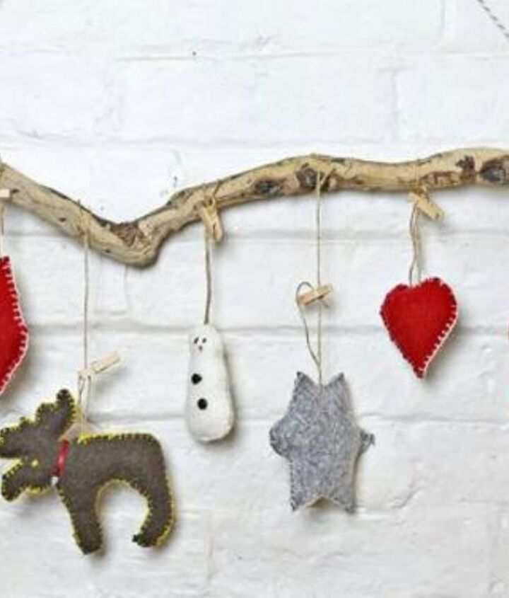 s x clever ways to use cookie cutters outside of your kitchen, kitchen design, To use as felt Christmas decor