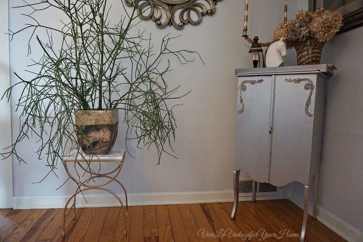 faux marble plant stand, flooring, gardening, tiling