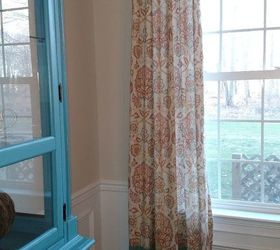 Drapes Too Short Try This Diy Trick To Make Them Longer, Home Decor, Window