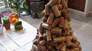 , Wine cork Christmas Tree