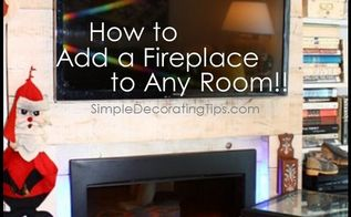diy a high end look with an inexpensive fireplace, fireplaces mantels