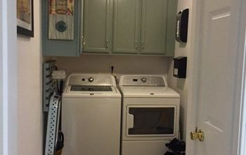 giving the laundry room some love, laundry rooms