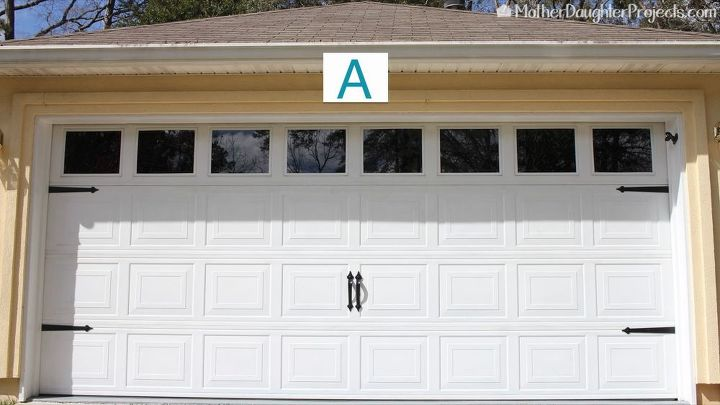 3 ways to add curb appeal to a garage door, curb appeal, doors, garage doors, garages