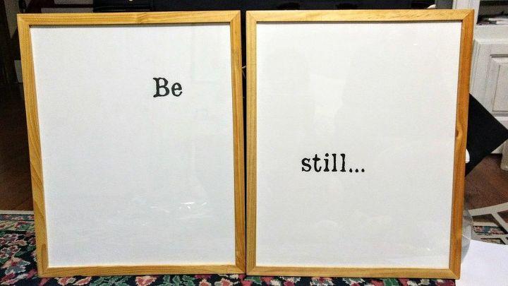 Simple Wall Art From Goodwill Store Frames | Hometalk