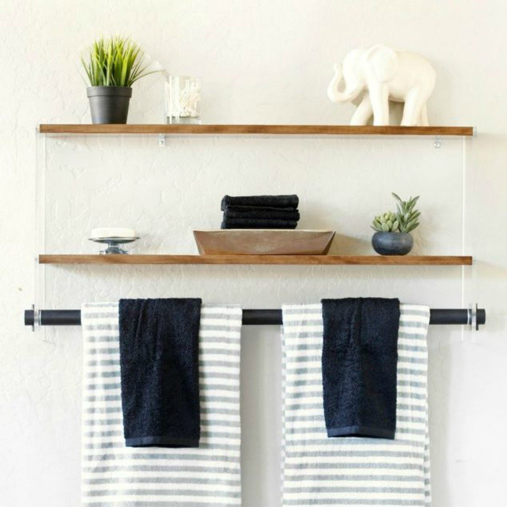 14 Smart And Stunning Ways To Use Brackets In Your Home