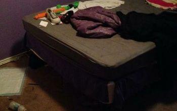 teen room makeover, bedroom ideas, Before