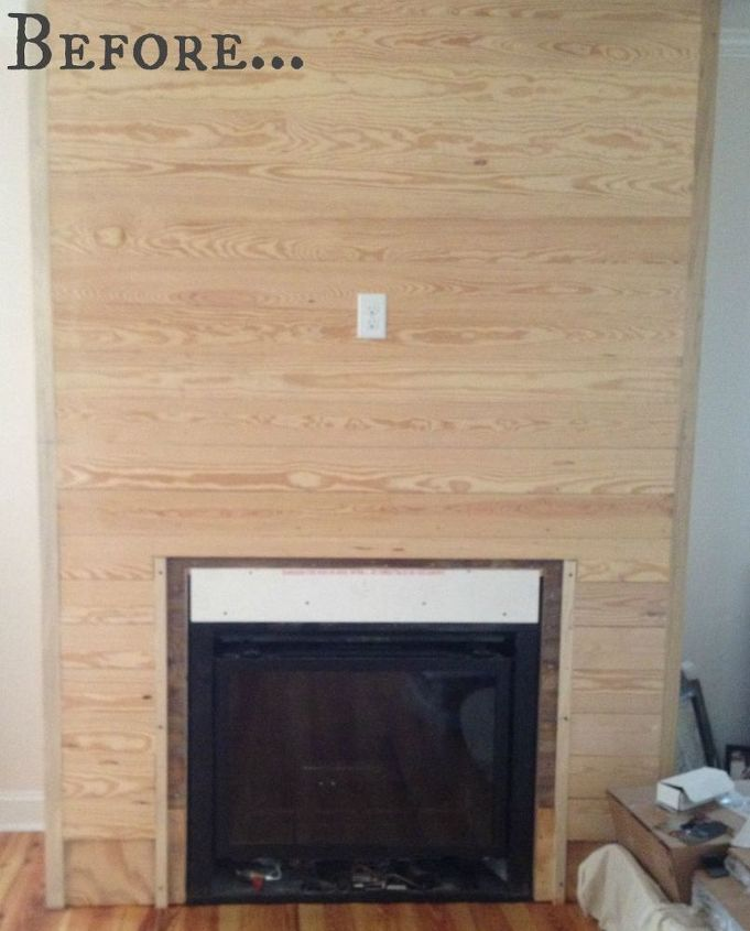 a fireplace made fabulous with spit, fireplaces mantels, Our Canvas
