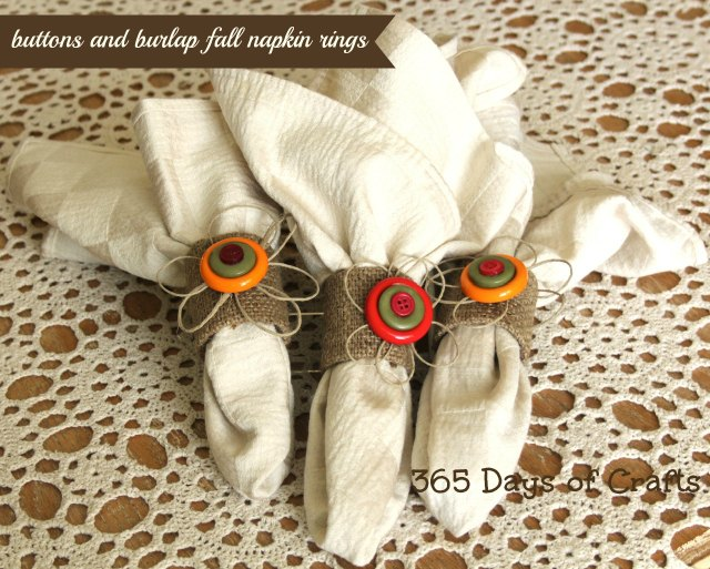 e car afternoon cardboard tube napkin rings with burlap, crafts