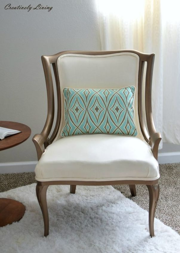 upholstered chair makeover twins