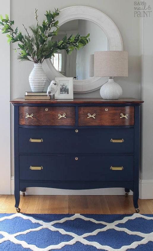 Vintage Dresser Before And After Makeover Hometalk
