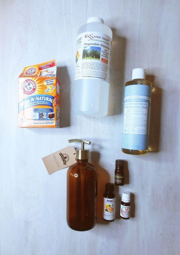 diy essential oil dish soap, cleaning tips
