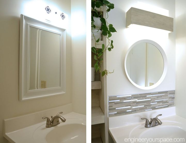 the bathroom transformation you didn t know you could do for 200