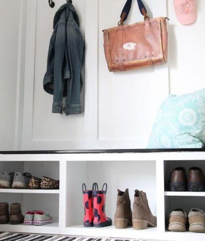 from closet to mudroom, closet, foyer