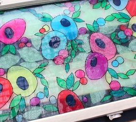 Tissue Paper and Resin Stained Glass
