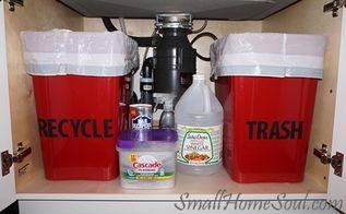 easy kitchen recycling center, kitchen design