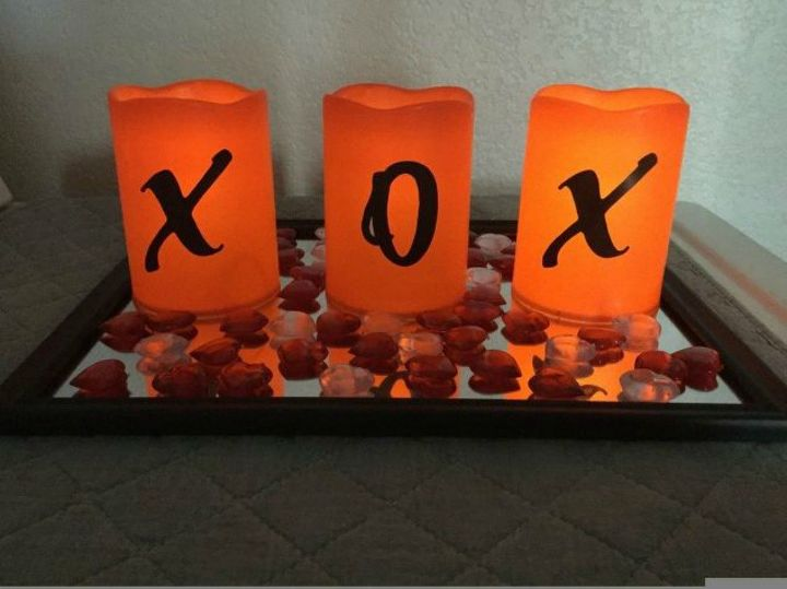 s these are the led candle solutions you ve been waiting for, This easy Valentine s day mantle display