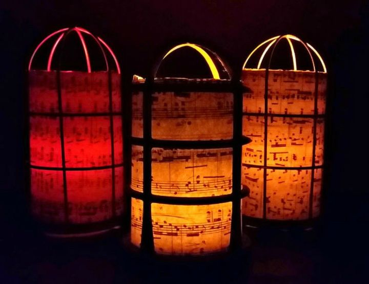 s these are the led candle solutions you ve been waiting for, This steampunk inspired luminary