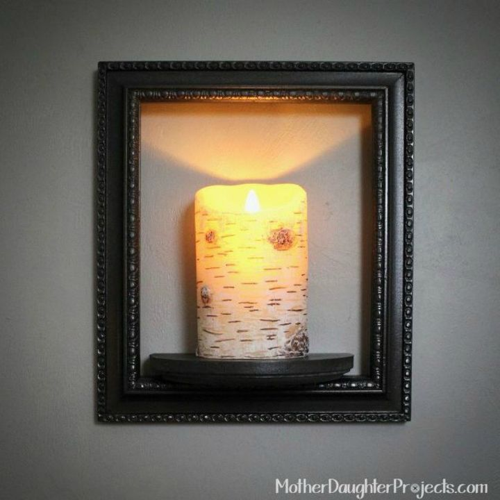 s these are the led candle solutions you ve been waiting for, This rustic looking wall sconce