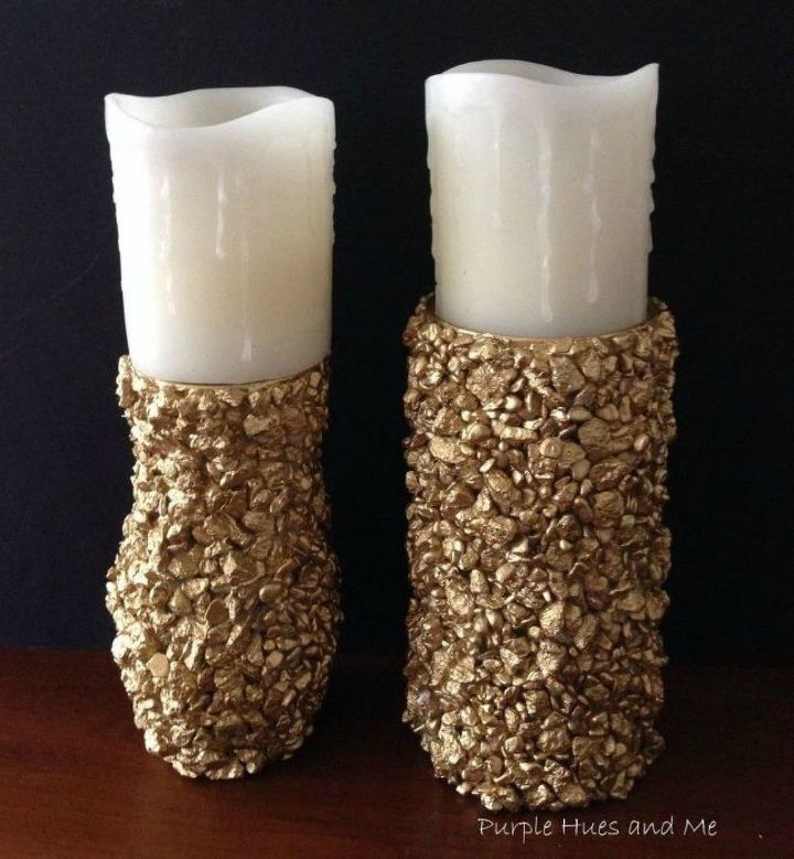 s these are the led candle solutions you ve been waiting for, This lush golden nugget lighting idea