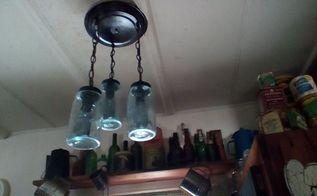 q hillbilly chandelier, lighting