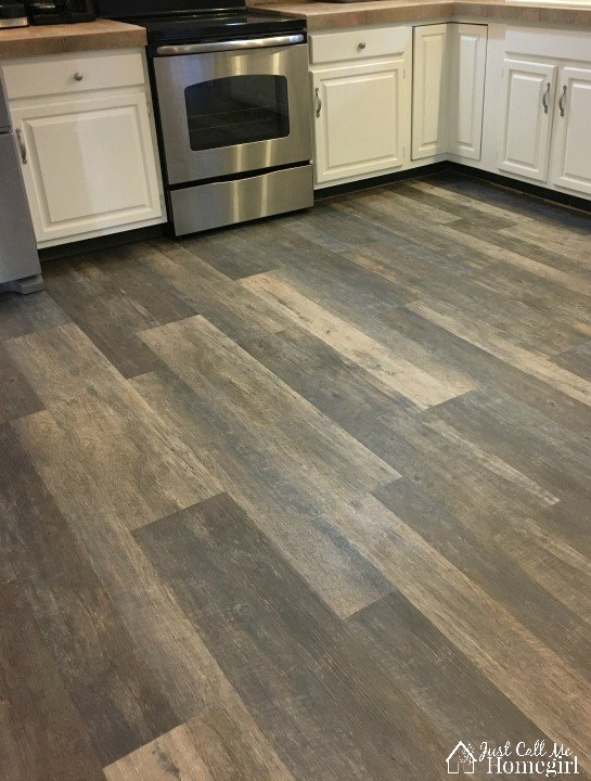 New Drop And Lock Kitchen Flooring Hometalk
