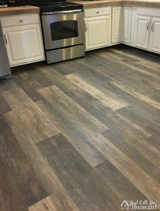 New Drop and Lock Kitchen Flooring | Hometalk