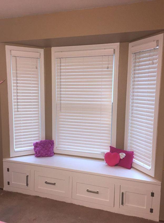 diy built in window seat with drawer and cabinet storage, closet, kitchen cabinets, kitchen design, storage ideas