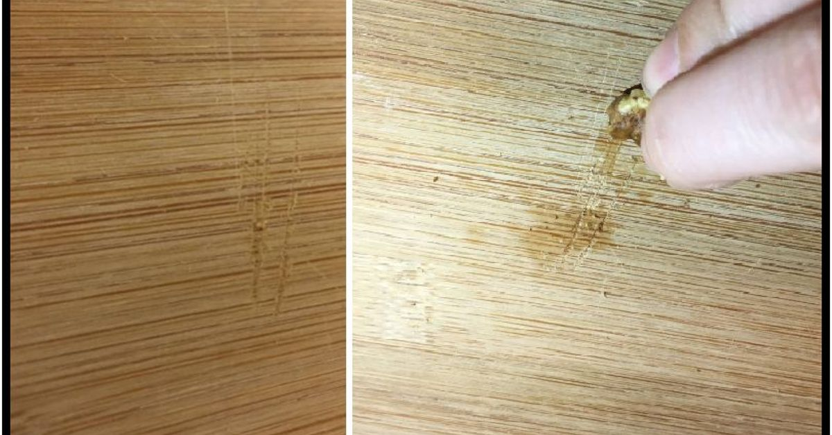 . Getting Scratches Out of Wood Cabinets and Furniture   Hometalk
