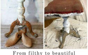 piano stool given a fresh life