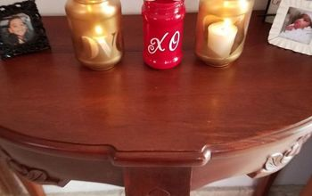 Valentine's Day Inspired Vase & Candle Holder