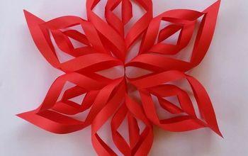 amazing 3d paper snowflake, STEP 11