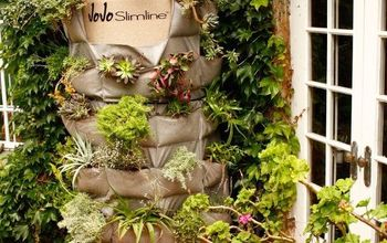 diy vertical garden water tank, home maintenance repairs, ponds water features
