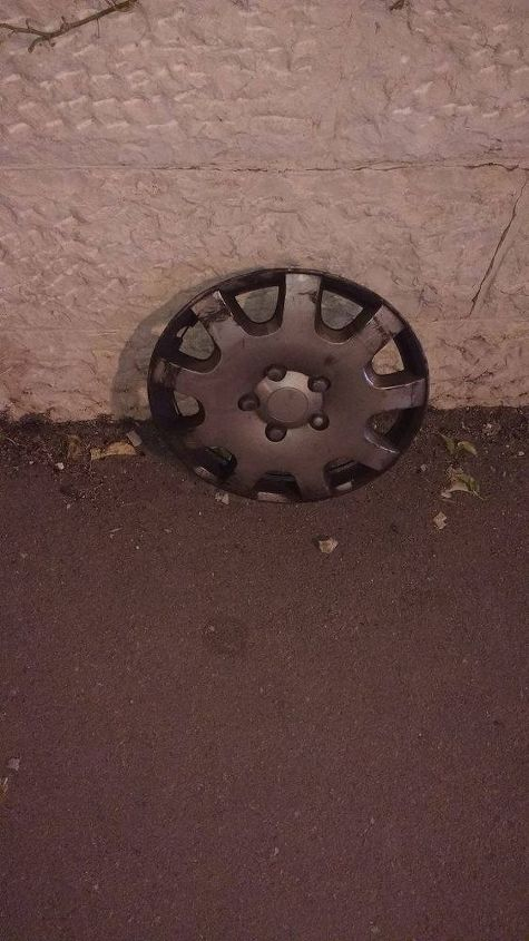 e the story of a hubcap and regret has this ever happened to you
