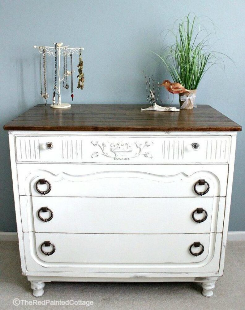 How To Paint Furniture Distressed Blue