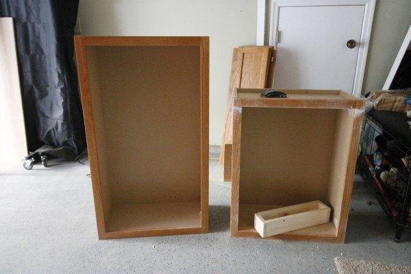 Extend Your Kitchen Island With An Open Bookshelf
