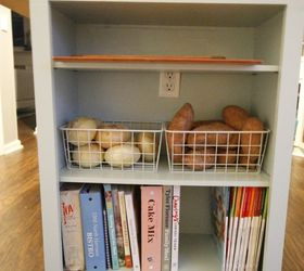 Extend Your Kitchen Island With An Open Bookshelf, Kitchen Design, Shelving  Ideas, Storage