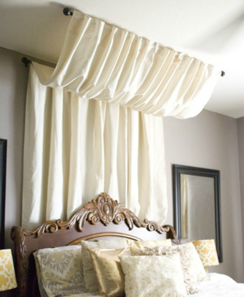 Hang A Luxurious Bed Canopy