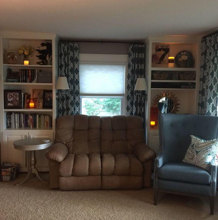 e lightening up my dark livingroom