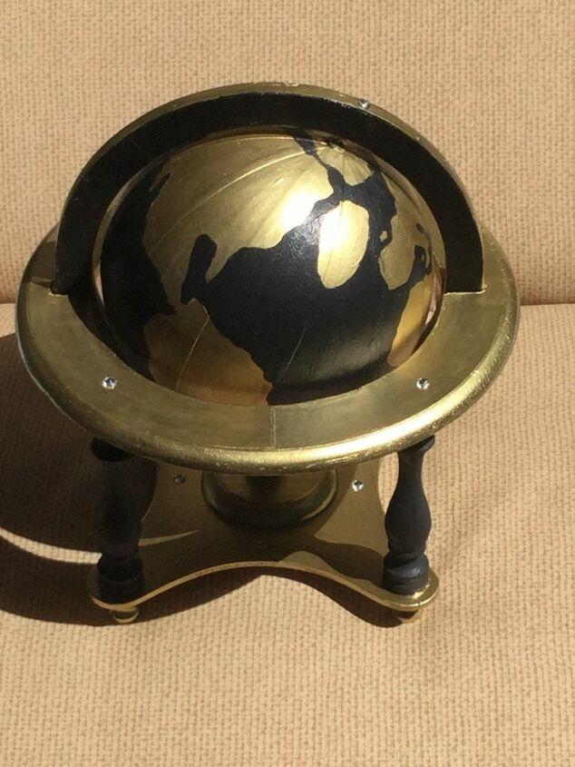 e old globe makeover