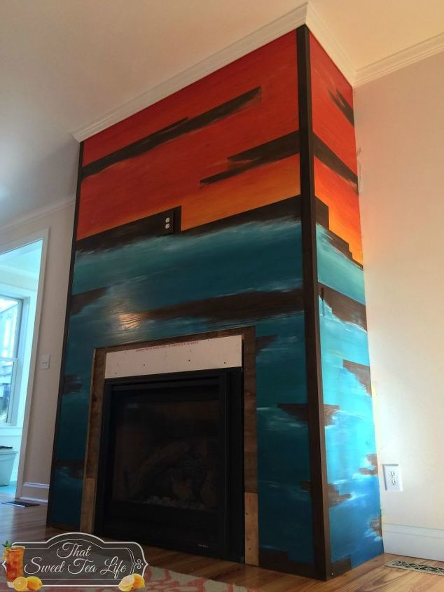 a fireplace made fabulous with spit, fireplaces mantels