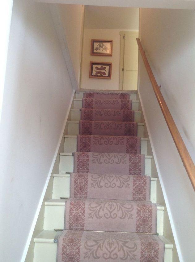 q dark upstairs hallway, foyer