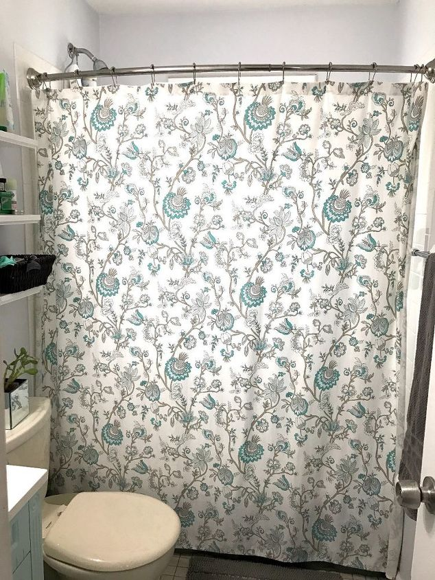 How To Make Shower Curtain Valance Hometalk