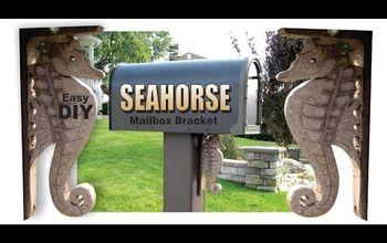 DIY Seahorse Shaped Mailbox Bracket